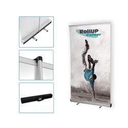 Votre stand enrouleur complet en 48 heures maxi avec Rollup Corner
