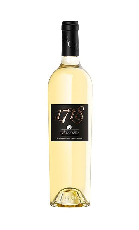 Château Escarelle cuvée 1718, un vin blanc d'exception