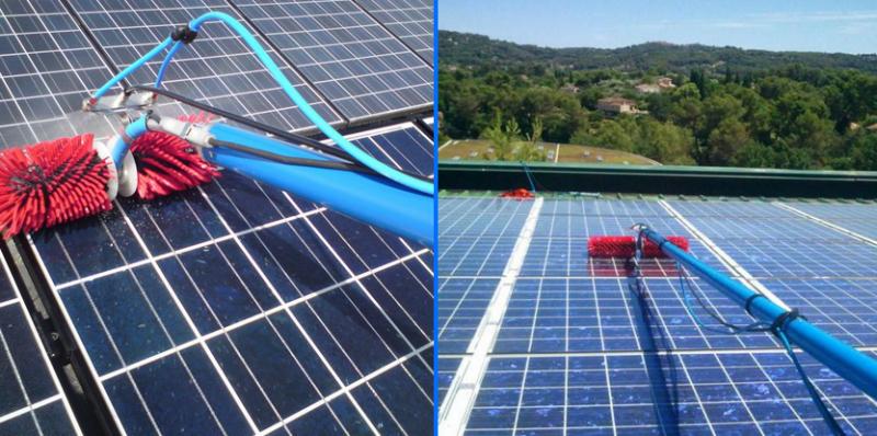 Clean Progress dispose de bons matériels de nettoyage de panneaux photovoltaïques